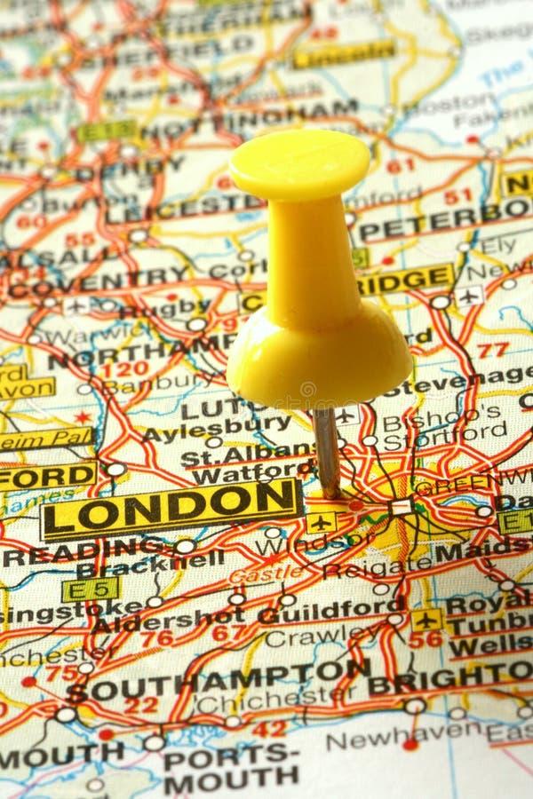 去的伦敦 库存照片