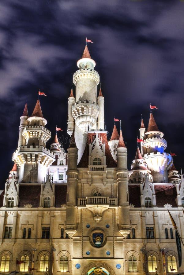 去通用城堡更新加坡的工作室 免版税库存照片