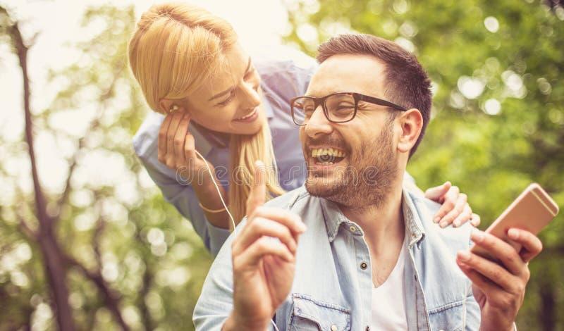 参与在我们的微笑天并且使其他愉快 免版税库存图片