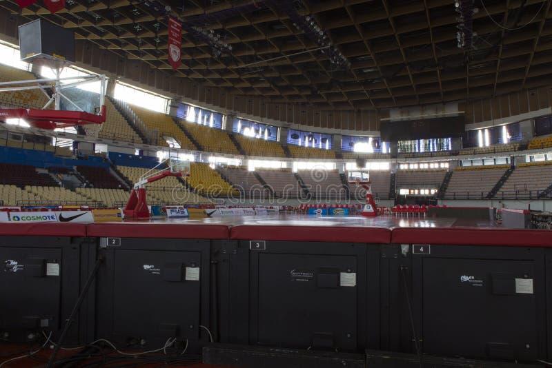 参观的和平和友谊体育场 免版税库存照片