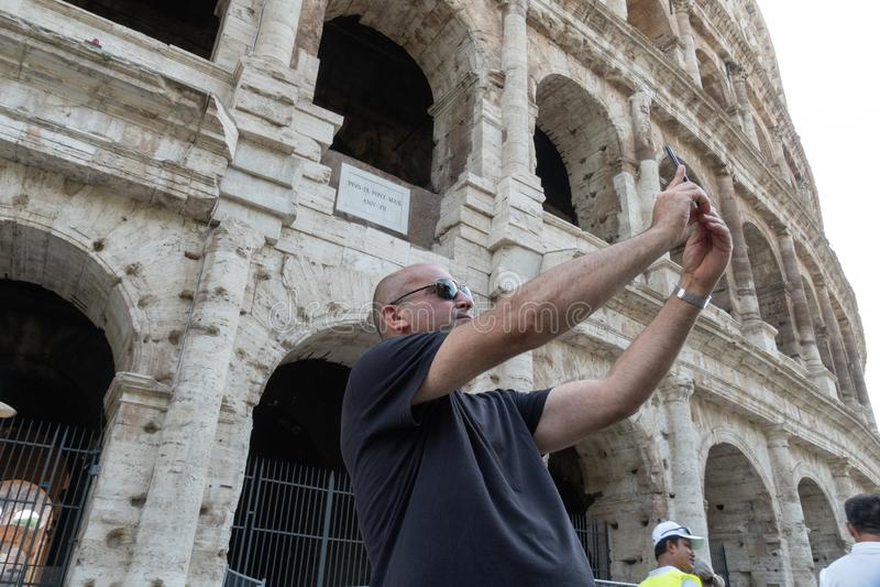 参观的罗马 免版税库存图片