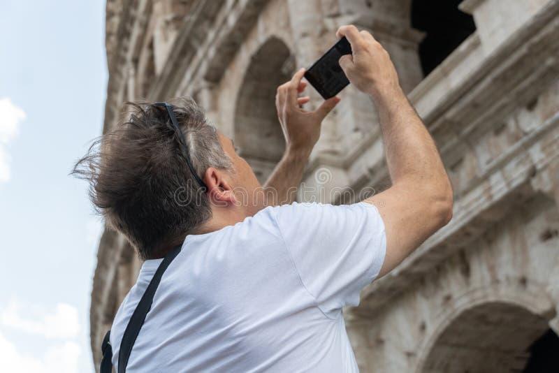 参观的罗马 免版税库存照片