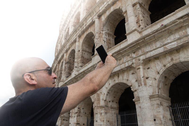 参观的罗马 库存图片