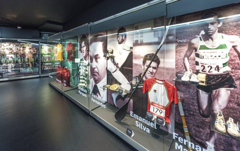 参观的FC炫耀的博物馆 库存图片