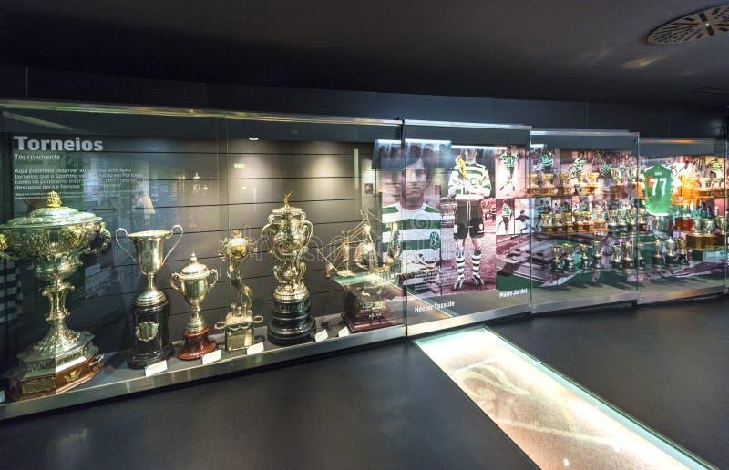 参观的FC炫耀的博物馆 图库摄影