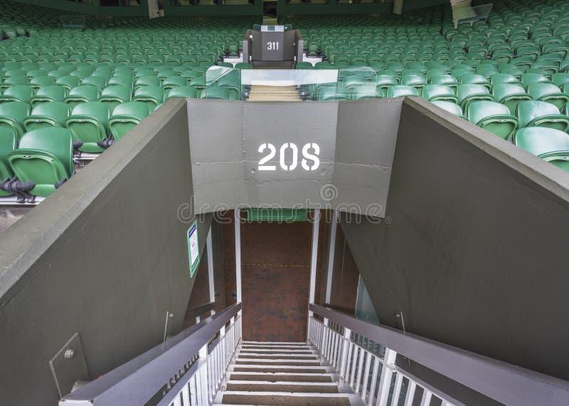 参观的Wimbledon地方 库存照片