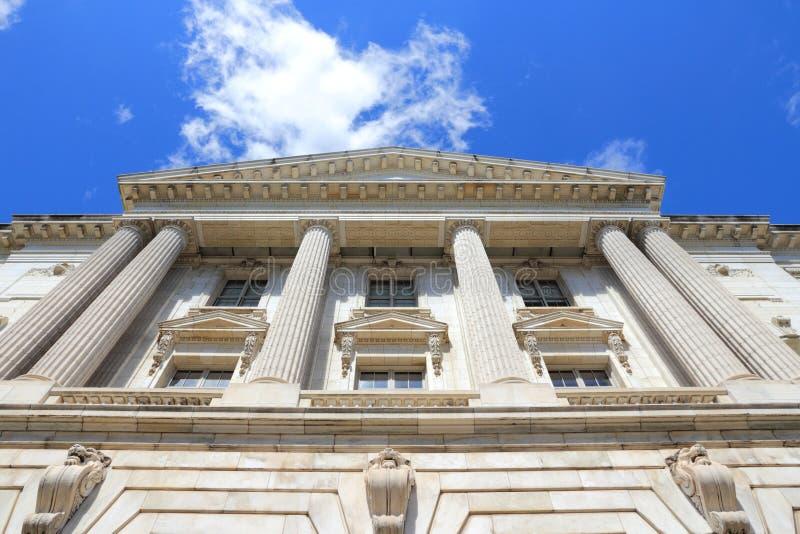 参议院,华盛顿特区 免版税库存照片