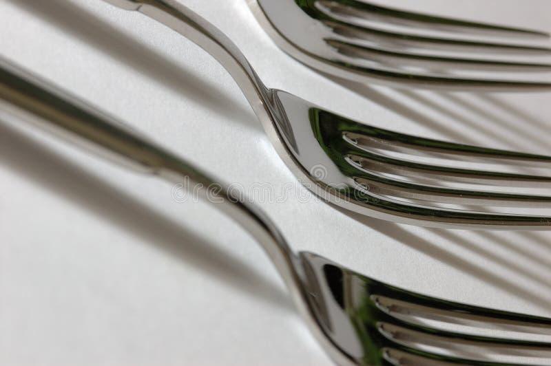 叉子 免版税库存照片