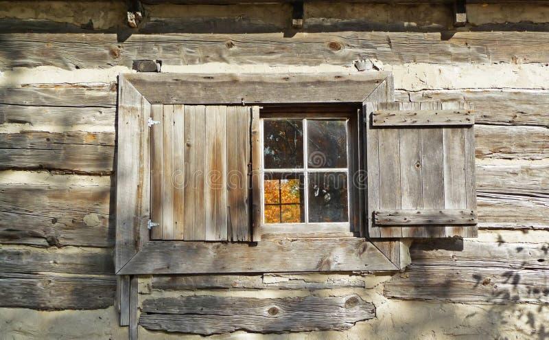 及早客舱世纪第十九视窗 免版税库存图片