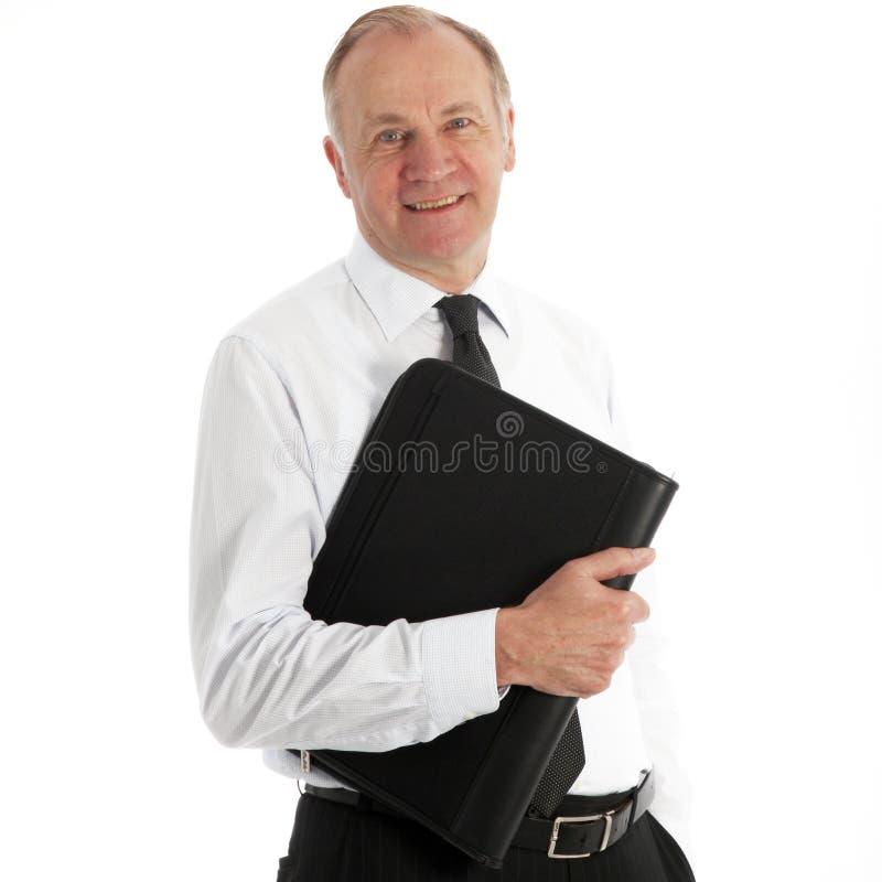 友好中年商业主管 免版税库存照片