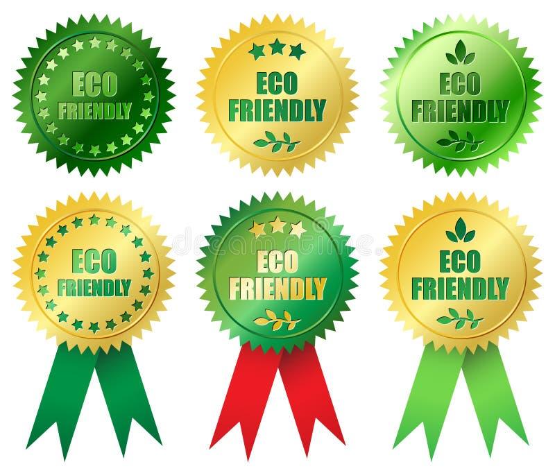 友好的eco 库存例证