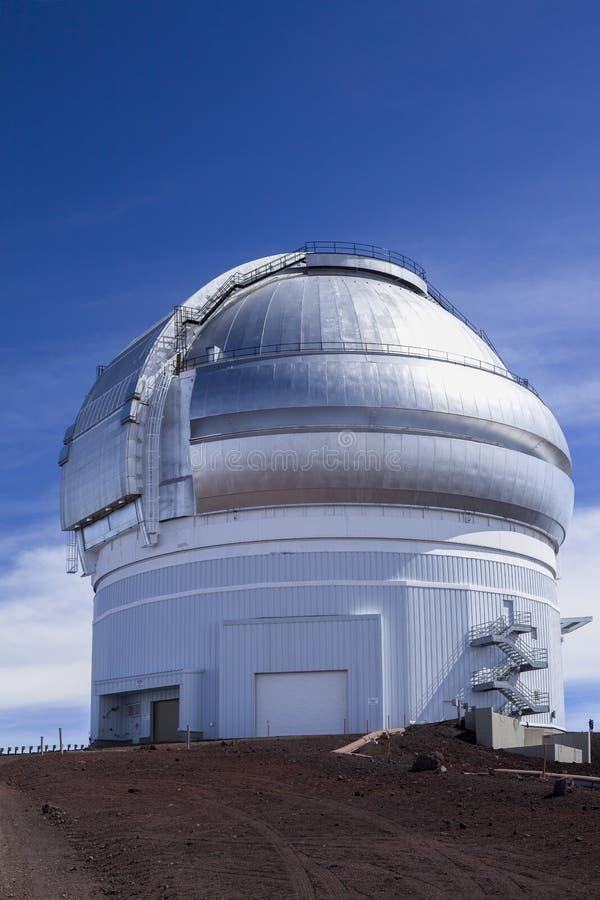 双子星座望远镜/观测所 免版税图库摄影