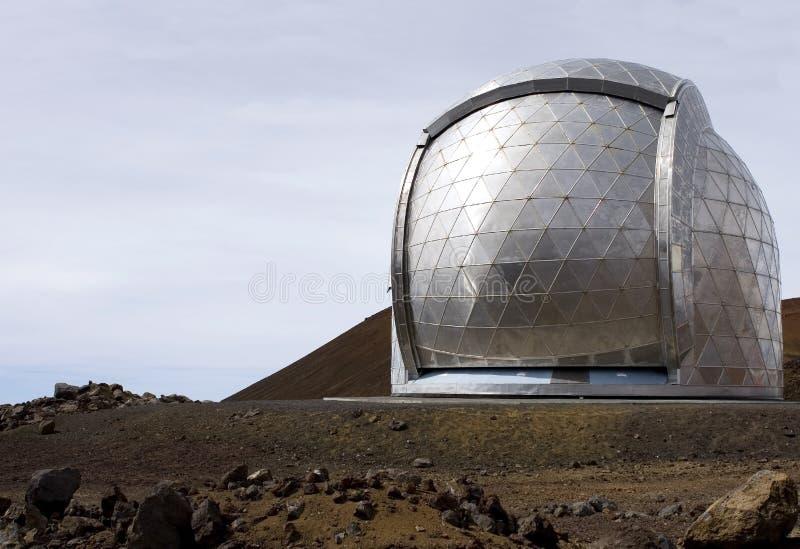 双子星座望远镜 免版税库存照片