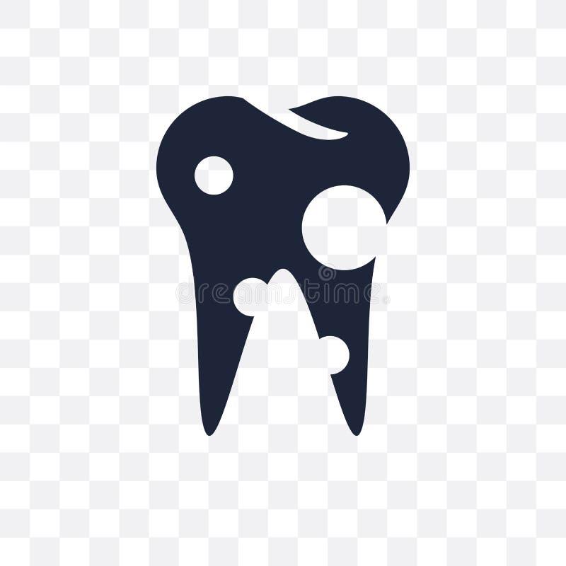 双尖的透明象 从牙医c的双尖的标志设计 皇族释放例证