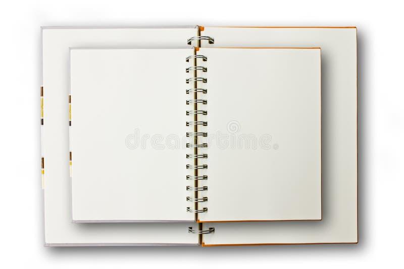双查出笔记本 免版税图库摄影