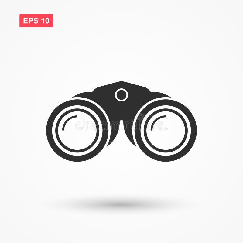 双筒望远镜象传染媒介 皇族释放例证