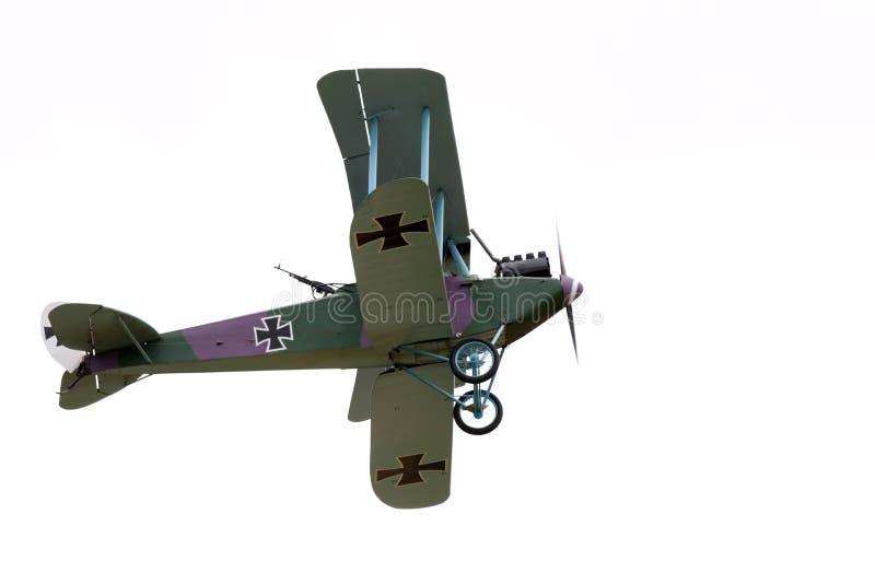 双翼飞机葡萄酒 免版税库存图片
