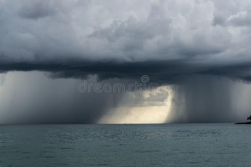 双重风暴 库存照片