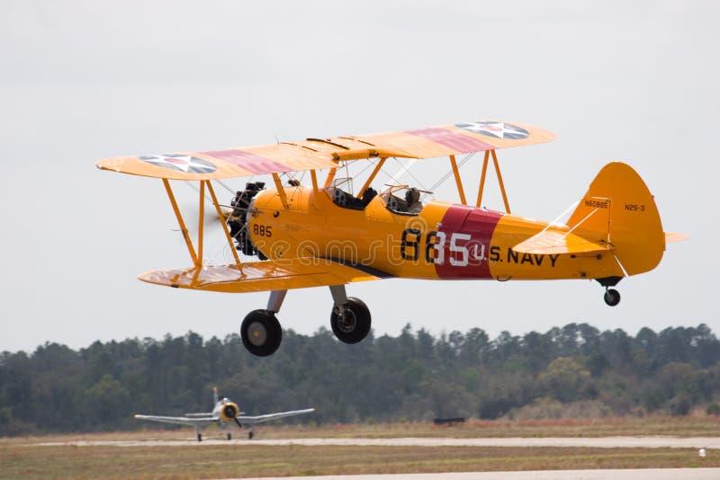 双飞机 免版税图库摄影