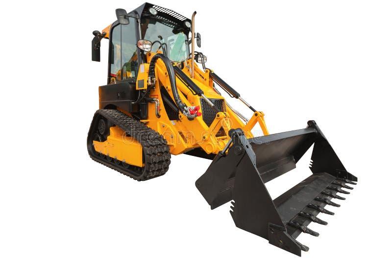 Download 反向铲装载者或推土机-有裁减路线isola的挖掘机 库存照片. 图片 包括有 威吓, 机械, 铁锹, 时段 - 72366414