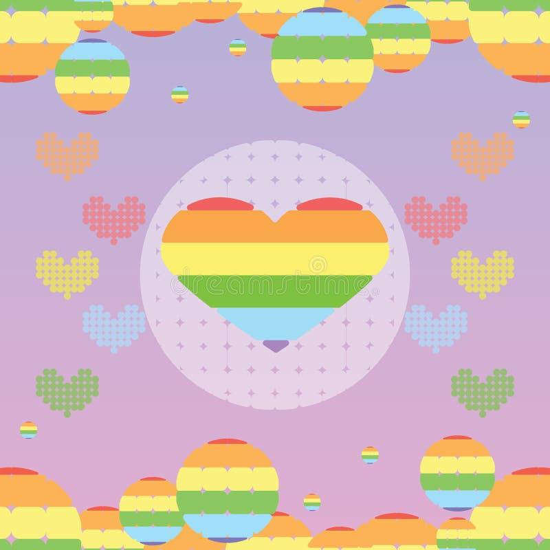 反对同性恋恐惧症, Trans恐惧和双恐惧的国际天 库存例证