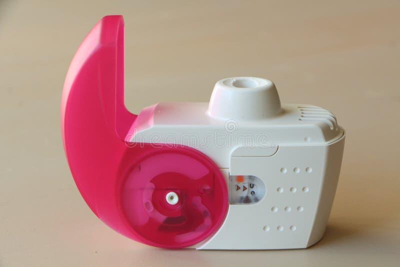 反对哮喘的吸入器 图库摄影