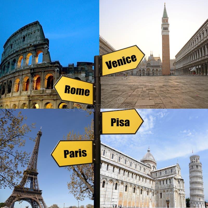 反对蓝天,意大利罗马Navona广场四河喷泉罗马细节的宙斯  免版税库存图片