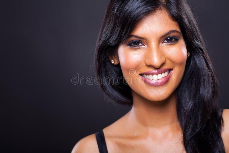年轻印第安妇女 免版税库存照片
