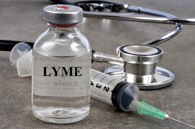 反对lyme的疫苗 免版税库存图片