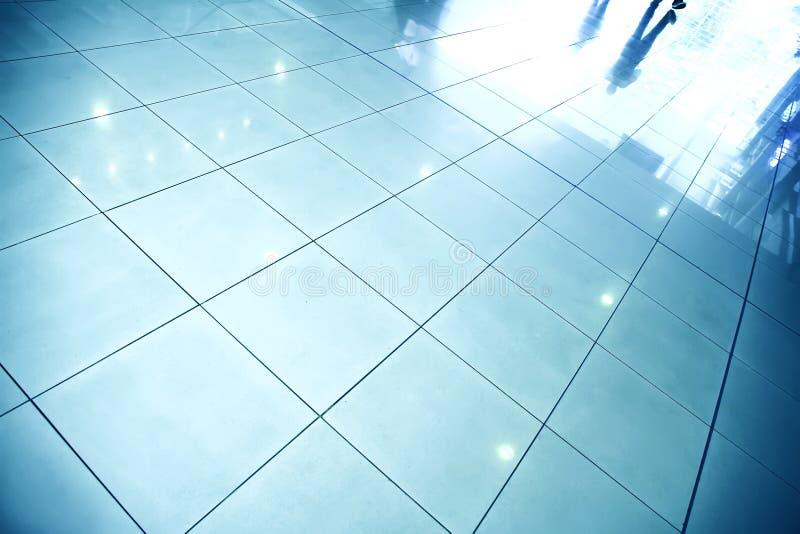 反射性楼层 免版税库存照片