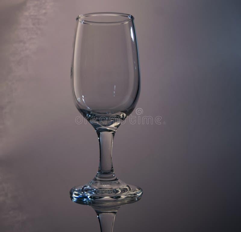 反射性酒杯 免版税图库摄影