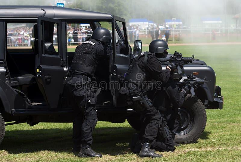 反暴力恐怖份子的部件 免版税库存照片