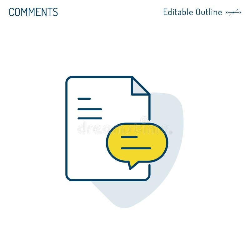 反馈象,文件,评论象,讲话泡影,常见问题,调查并且分析,公司业务offi 库存例证