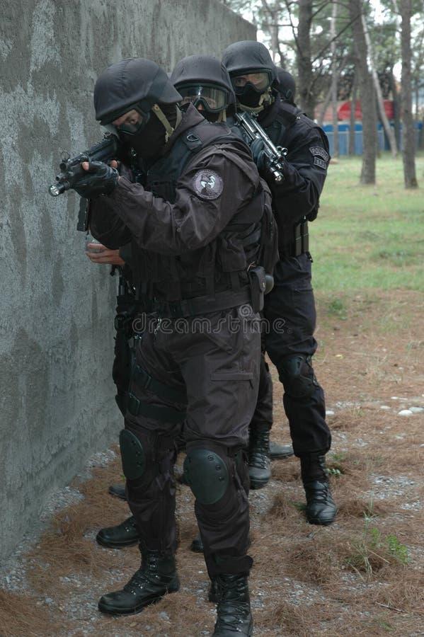 反暴力恐怖份子的单位房子002 免版税图库摄影