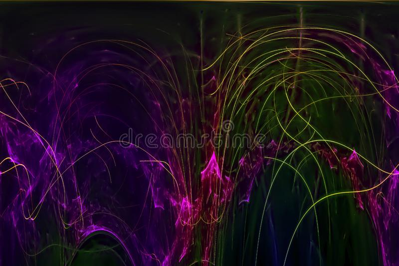 发光回报科学样式纹理背景飞溅力量幻想爆炸设计飞溅,闪闪发光 皇族释放例证