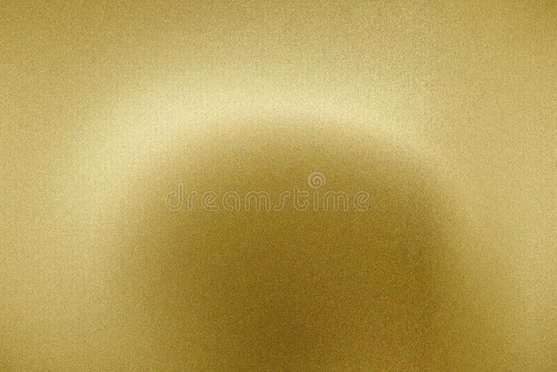 发光在掠过的金金属盘区,抽象纹理背景的光 库存图片