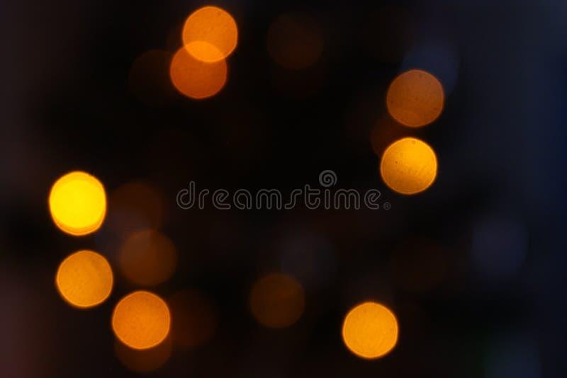 发光的光背景/bokeh 库存图片