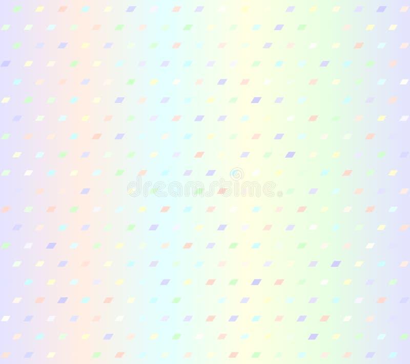 发光的平行四边形样式 r 皇族释放例证