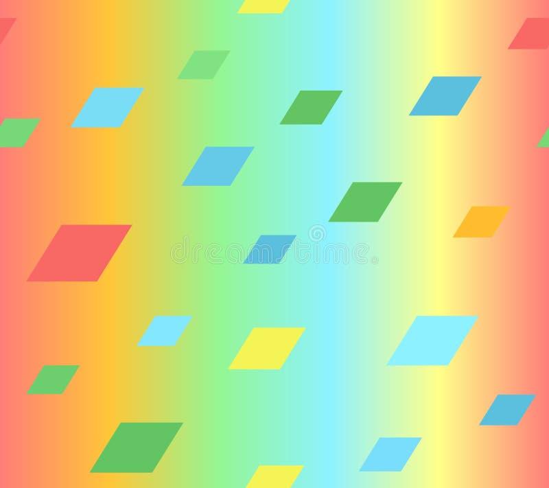 发光的平行四边形样式 r 向量例证