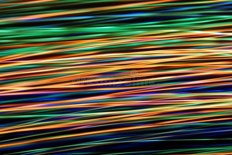 发光的微粒有启发性抽象数字式波浪  图库摄影