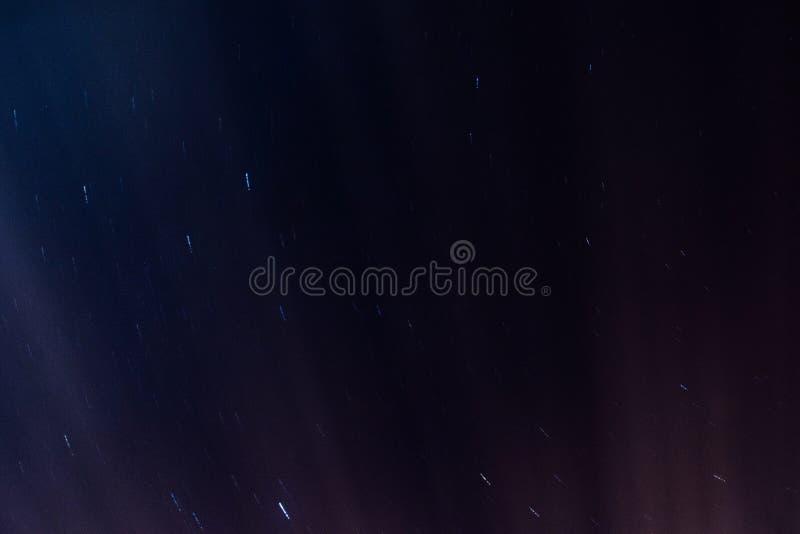 发光的星形 库存图片