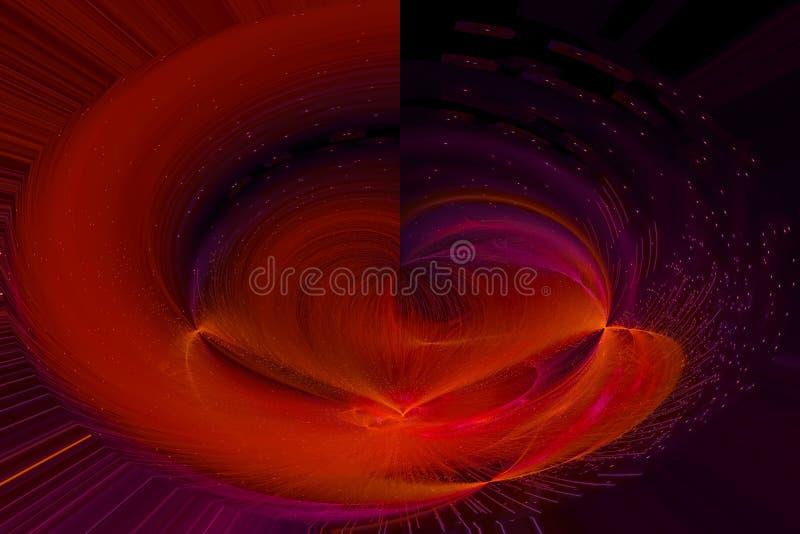 发光的波斯菊未来派爆炸爆炸飞溅力量幻想爆炸设计飞溅,闪闪发光 皇族释放例证