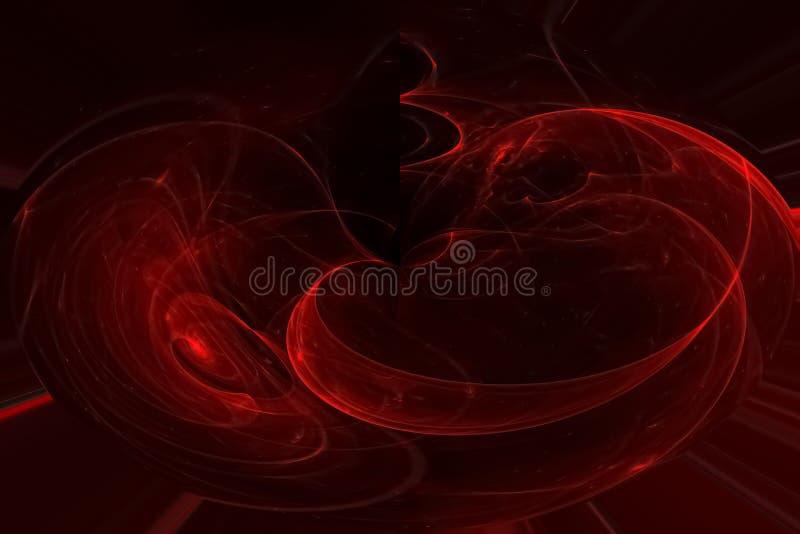 发光的波斯菊未来派破裂的科学波浪样式飞溅力量幻想爆炸设计飞溅,闪闪发光 皇族释放例证
