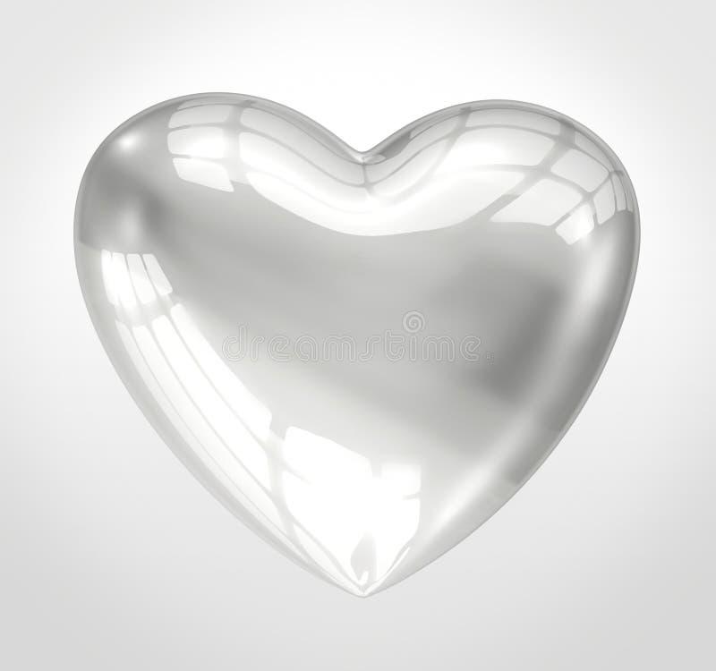 发光的玻璃重点 皇族释放例证