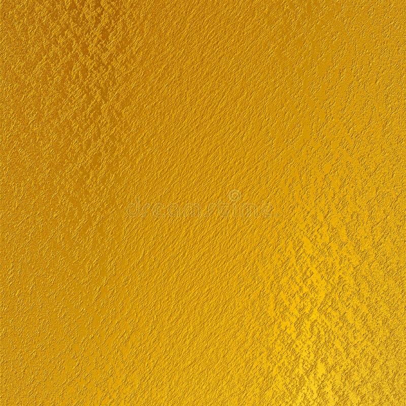 发光的金箔织地不很细背景 库存照片