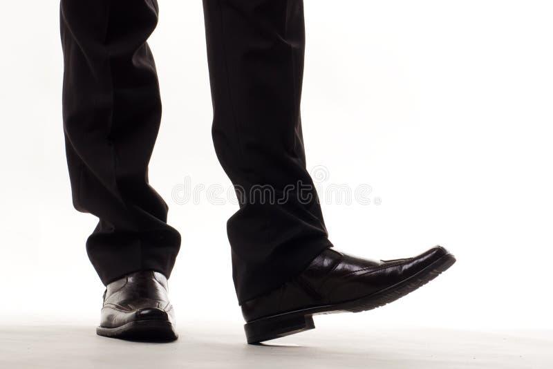 发光的鞋子 免版税库存照片