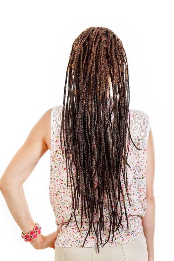 发型现代时尚趋向的概念 库存图片