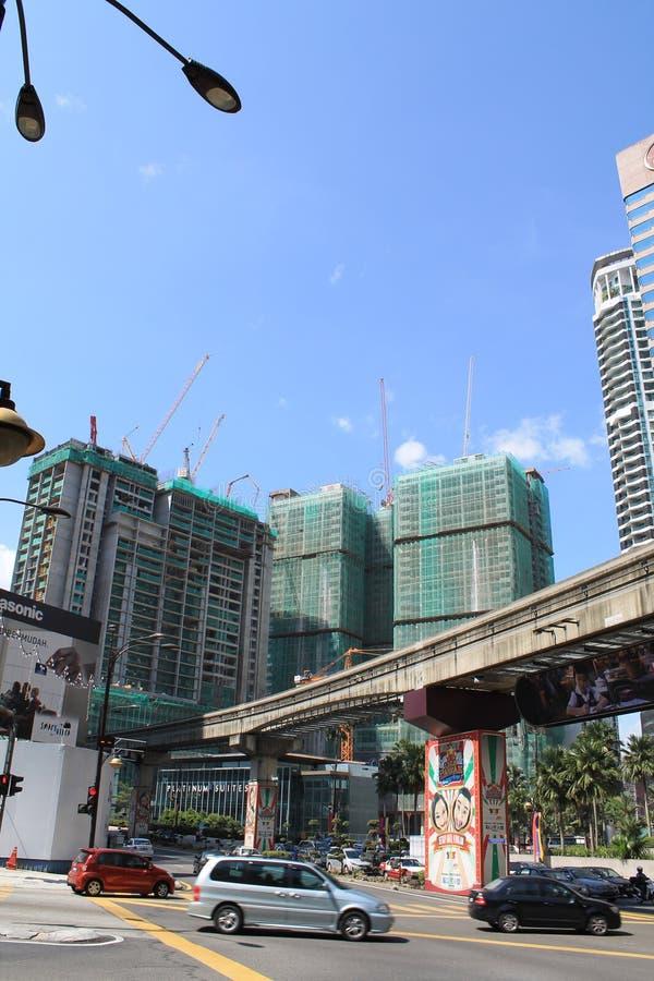 发展中国家城市吉隆坡马来西亚 免版税库存照片