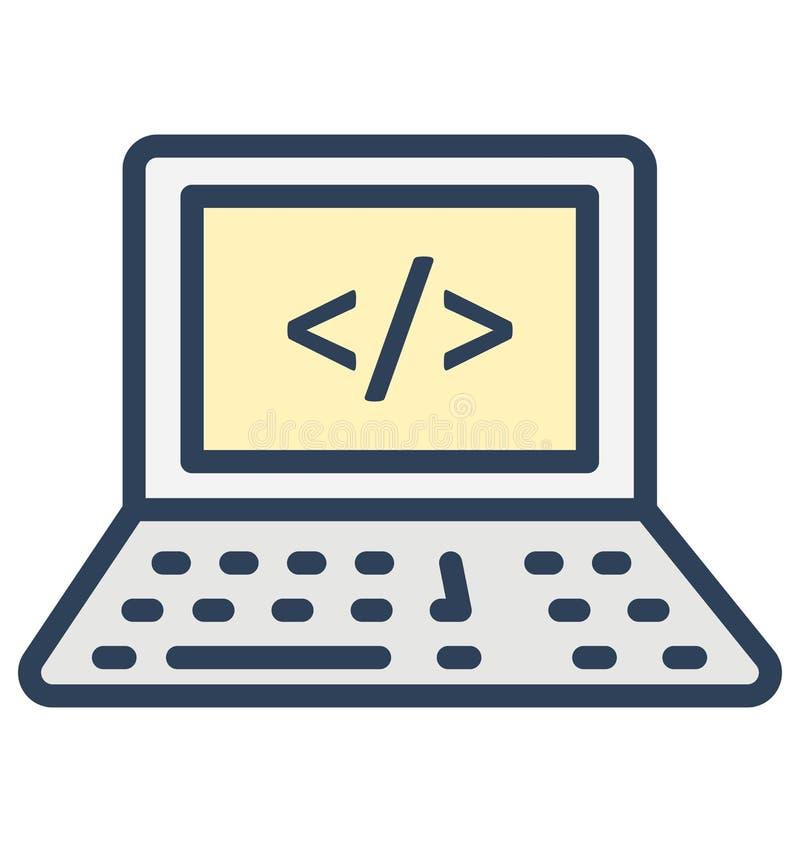 发展代码,div隔绝了可以非常容易地是编辑或修改的传染媒介象 库存例证