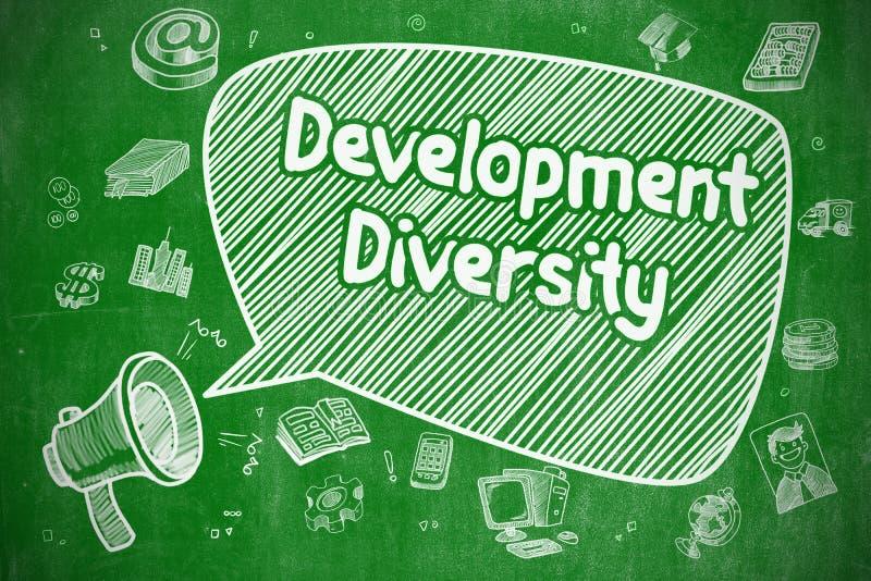 发展变化-企业概念 皇族释放例证